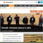 Nomadi: Animante Sbarca In Radio!